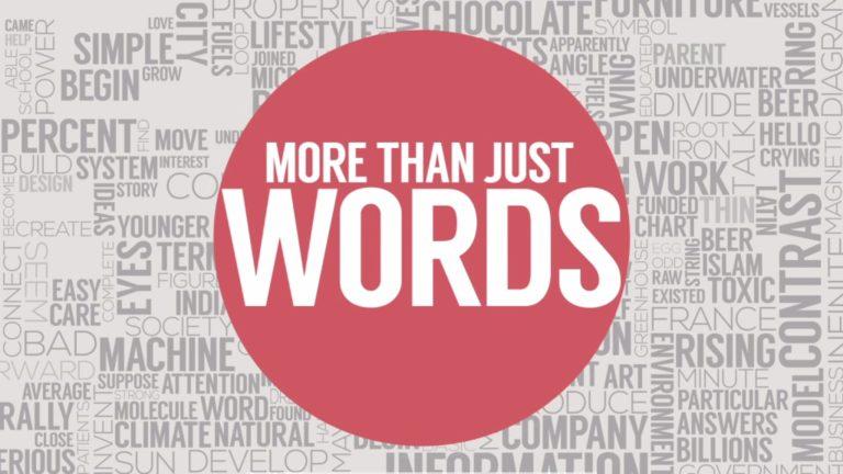 More Than Just Words – TEDxSydney TVB
