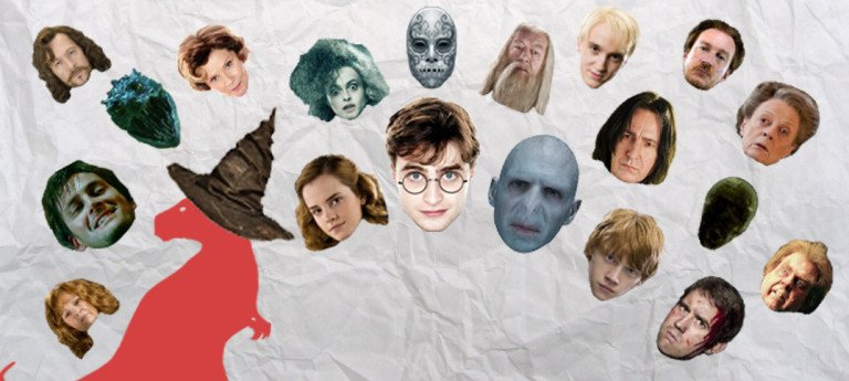 Harry Potter Actions Visualisation