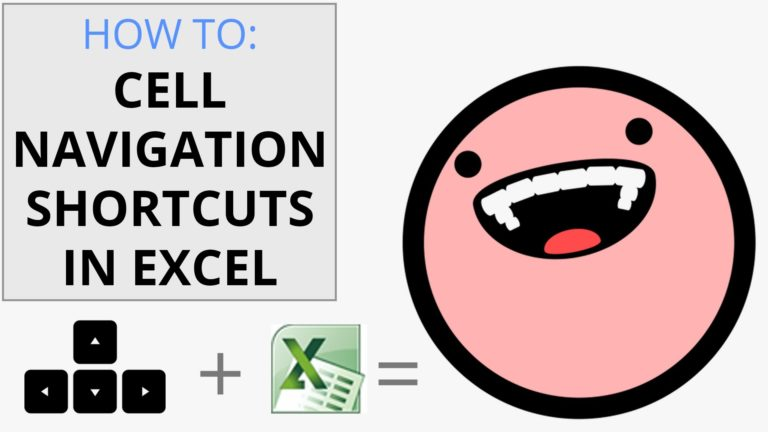 Excel Cell Navigation Tutorial Video