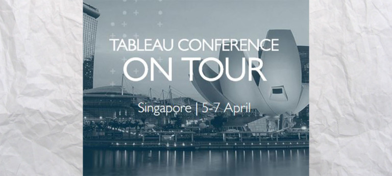 Welcome Tableau Conference Singapore!