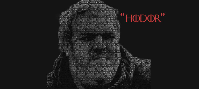 Hodor by the numbers