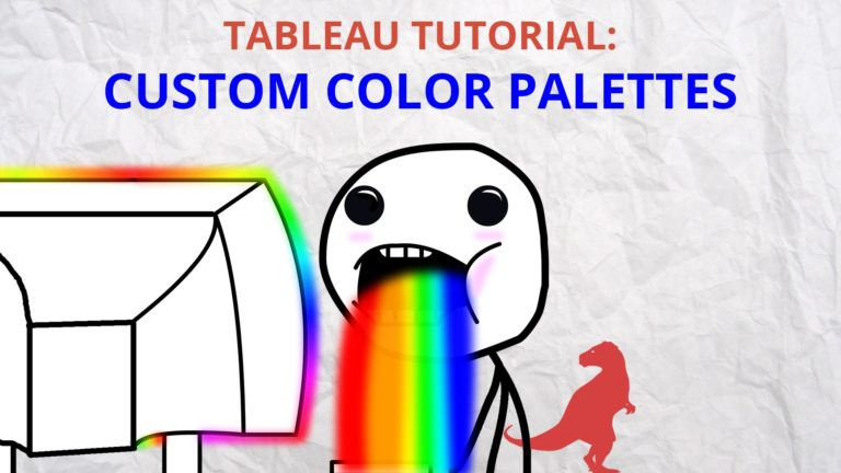 How To Make Custom Color Palettes in Tableau
