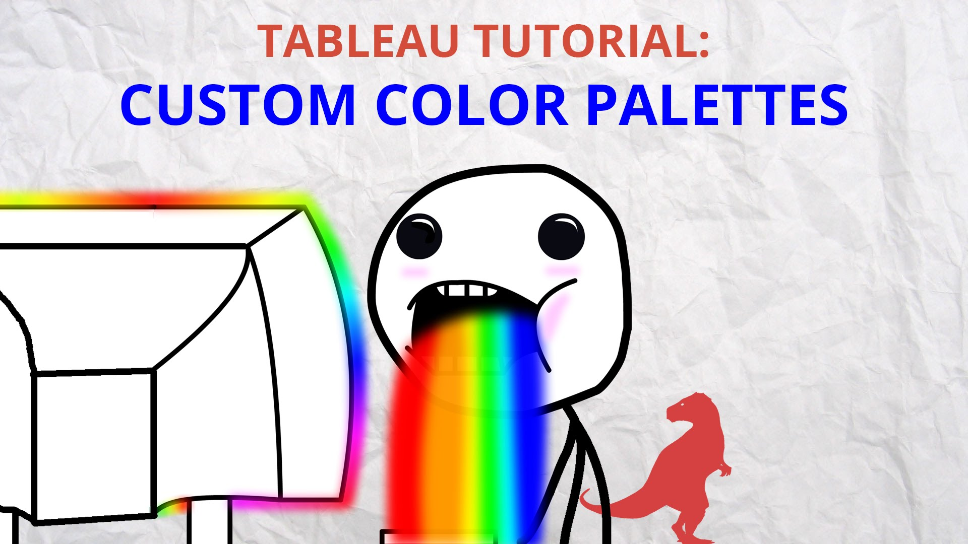 How To Make Custom Color Palettes In Tableau Datasaurus Rex