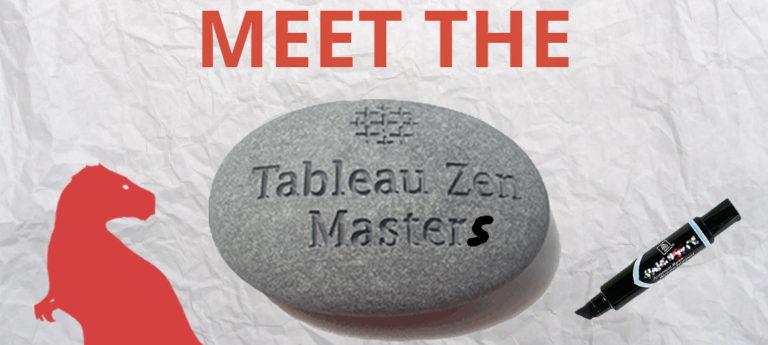 Meet the Tableau Zen Masters 2016/2017