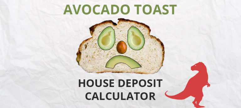 Avocado Toast House Deposit Calculator