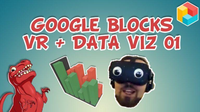 Exploring Virtual Reality + Data Visualisation