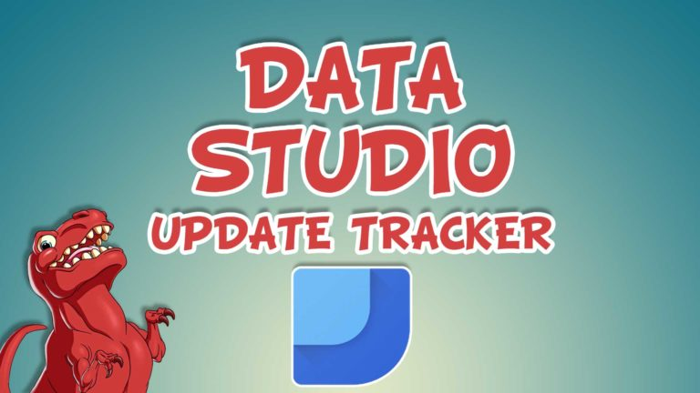 Data Studio Update Tracker