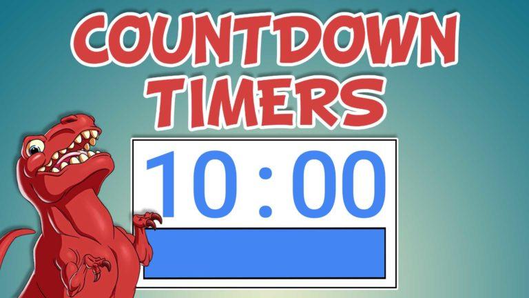 Countdown Timers w/ Progress Bar