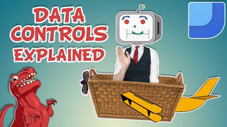 What are Data Controls in Google Data Studio?