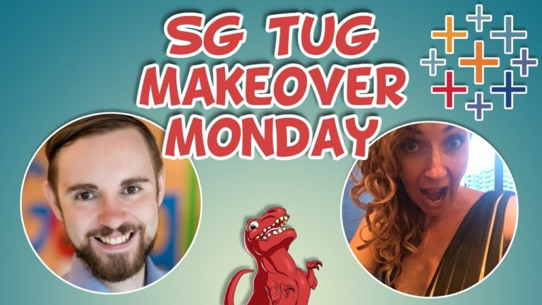 SG TUG Makeover Monday edition