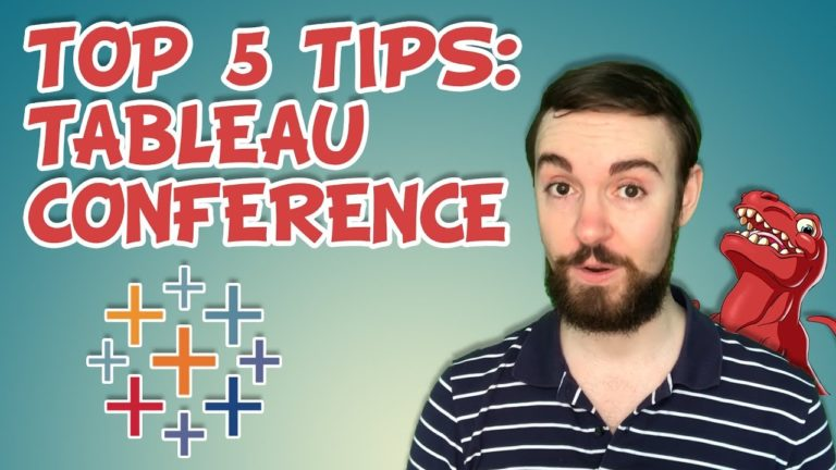 Top 5 Tips: Tableau Conferences