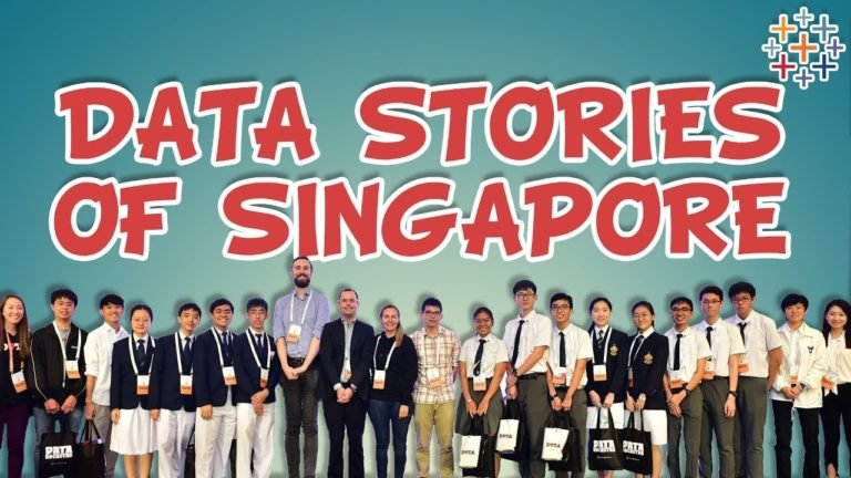 Data Stories of Singapore – Competition Showcase