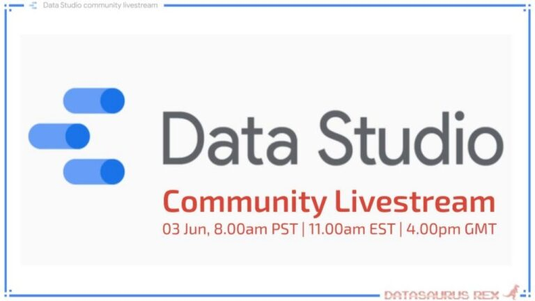 Data Studio Community Livestream | Jun 2020