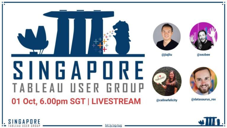 SG Tableau User Group Oct 2020